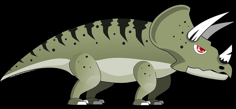 El triceratops